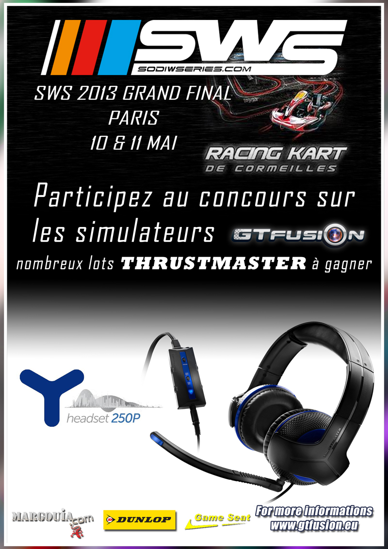 SWS Grand Final 2013 - GTfusion Virtual Contests with Thrustmaster